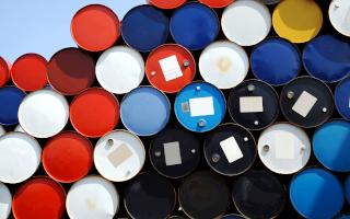 Oil strikes markets