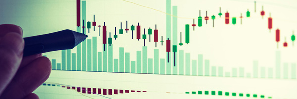 Stock stochastics signal caution